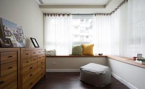 美式风格简约时尚飘窗设计装修效果图