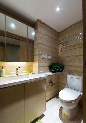 128平米现代风格时尚三室两厅室内设计装修实景图