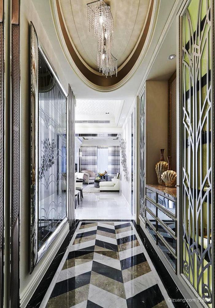 新古典主义风格大户型精美玄关设计装修效果图
