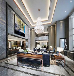 270平米新中式风格精致别墅室内装修效果图