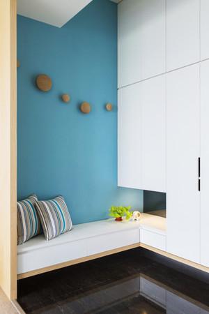 96平米宜家风格清新三室两厅室内装修效果图案例