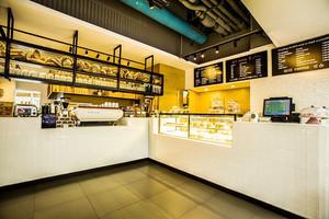 36平米后现代风格面包店装修效果图