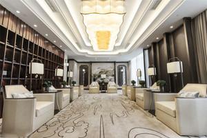 中式风格精致酒店吊灯设计装修效果图