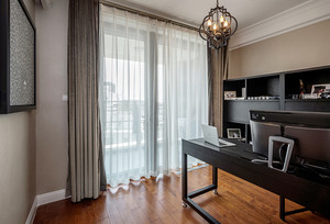 156平米后现代风格精美复式楼室内装修效果图案例