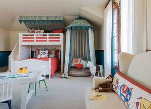 混搭风格精美时尚儿童房设计装修效果图赏析