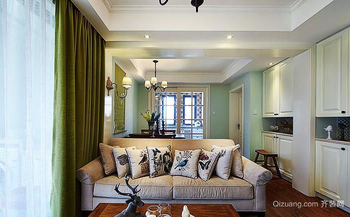 131平米简欧风格精致三室两厅室内装修效果图赏析