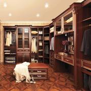 美式风格别墅室内精美衣帽间设计装修效果图鉴赏