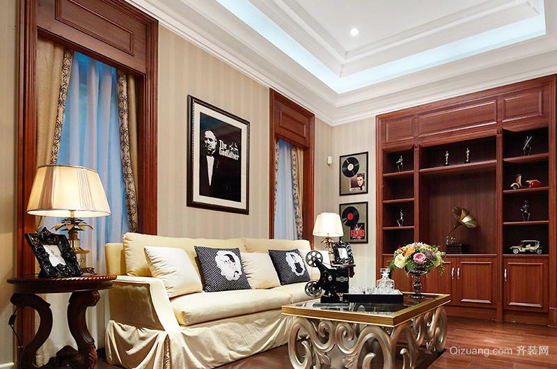欧式风格精美别墅室内装修效果图案例
