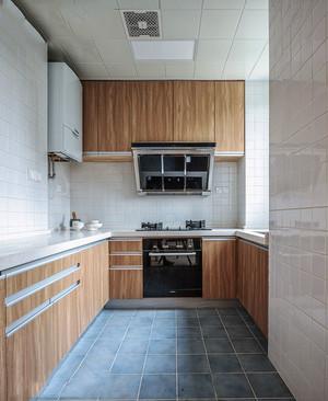 12平米现代风格精致厨房设计装修效果图鉴赏