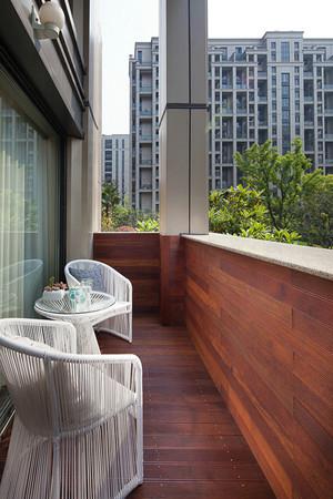 现代风格精致四室两厅室内装修效果图案例