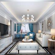 新古典主义风格精美客厅设计装修效果图赏析