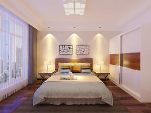 宜家风格温馨简约两室两厅室内装修效果图案例