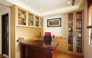 新中式风格素雅清新复式楼室内装修效果图案例