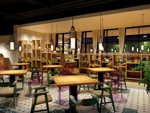 中式风格简约雅致餐厅设计装修效果图
