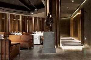美式风格典雅精美酒店餐厅装修效果图