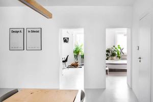 52平米北欧风格时尚单身公寓设计装修效果图