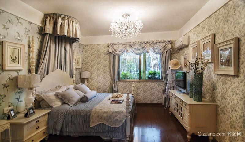 法式风格温馨舒适卧室装修效果图赏析