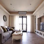简欧风格精美温馨客厅装修效果图