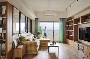 日式风格温馨简约一居室室内装修效果图案例