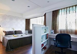 现代简约风格时尚大户型室内装修效果图案例