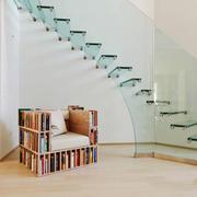 现代简约风格时尚楼梯设计装修效果图赏析
