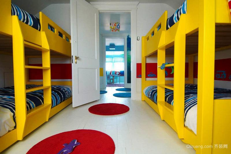 现代风格时尚儿童房设计装修效果图赏析