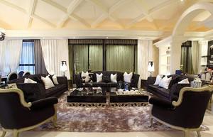 新古典古典风格精美大户型室内设计装修效果图