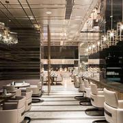 后现代风格精致咖啡厅设计装修效果图
