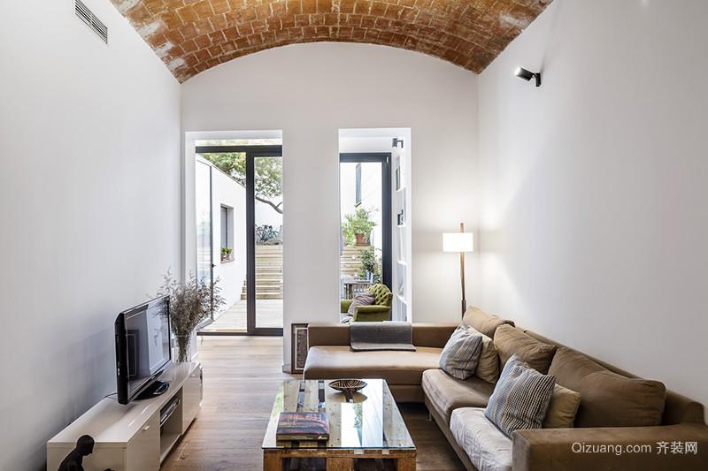 北欧风格精美别墅室内装修效果图案例