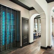 欧式风格精美创意酒柜设计装修效果图