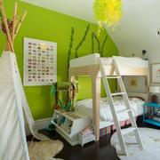 清新风格活力时尚儿童房设计装修效果图