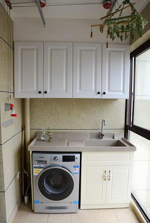 混搭风格精美三室两厅室内装修效果图案例