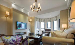 120平米简欧风格精美室内设计装修实景图赏析