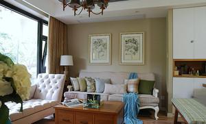 98平米简欧风格精致两室两厅室内设计装修效果图