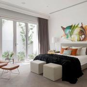 现代简约风格时尚卧室设计装修效果图