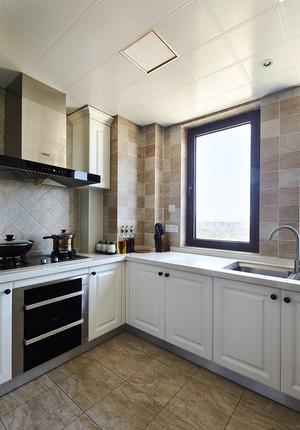 159平米美式风格复式楼室内设计装修实景图赏析
