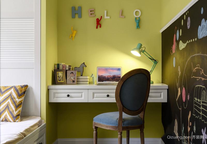 美式田园风格精美复式楼室内设计装修效果图赏析