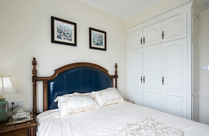 美式风格清新时尚三室两厅室内装修效果图