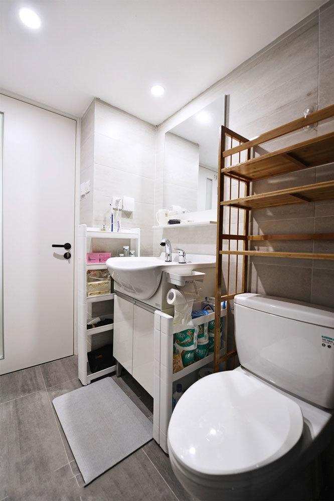 日式风格简约小户型卫生间装修效果图