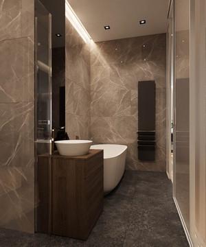 64平米现代风格精致单身公寓装修效果图赏析