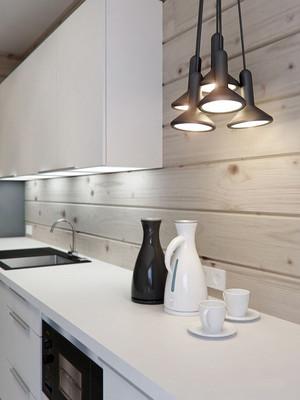 216平米现代风格时尚别墅室内装修效果图