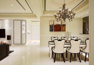 新古典主义风格精美三室两厅室内设计装修效果图