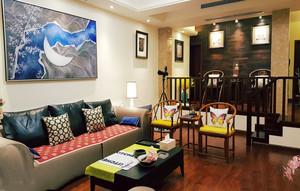 新中式风格古典优雅客厅设计装修效果图赏析