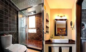 88平米中式风格两室两厅室内设计装修效果图