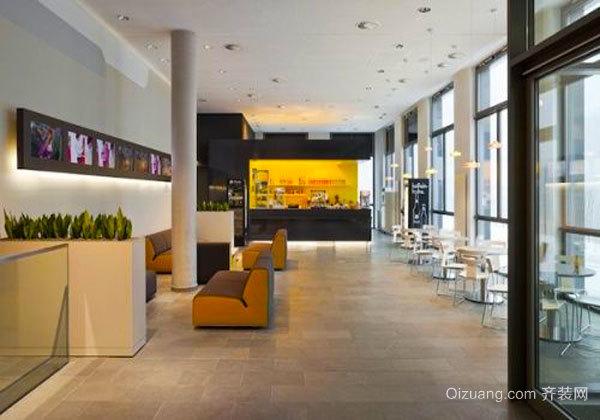 现代风格时尚咖啡厅设计装修效果图