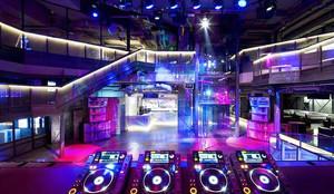 100平米现代风格音乐酒吧装修效果图