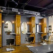 后现代风格美发店装修效果图