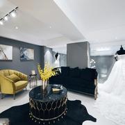 90平米现代风格精致婚纱店装修效果图