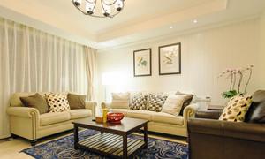 96平米简欧风格精致两室两厅室内设计装修效果图
