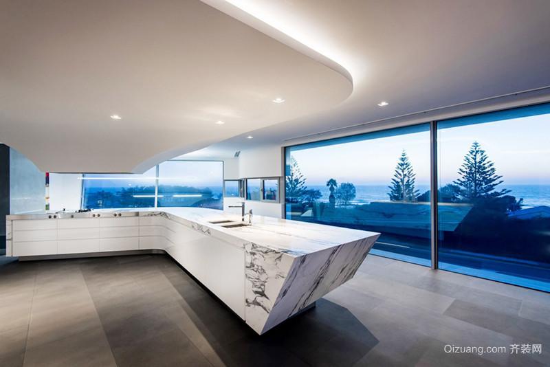 220平米简约风格别墅室内设计装修效果图案例